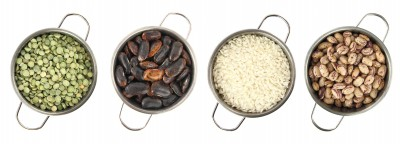 Beans, legumes as a part of a healthy vegan diet