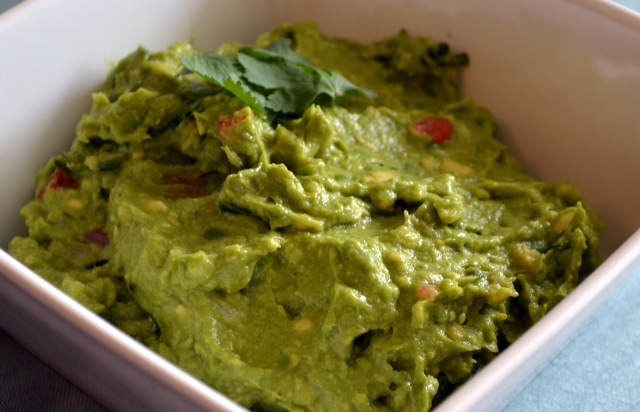 The Best Guacamole Ever! With jalapenos, onion, cilantro and tomato.